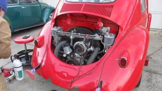 VW Bug 2110cc Stroker Engine First Start, Initial Break In