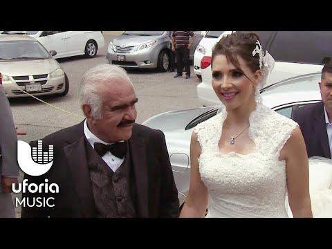 Vicente Fernández entregó a su única hija en el altar