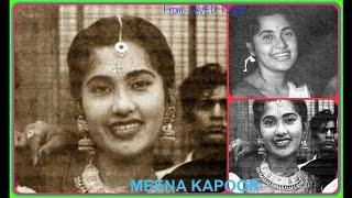 MEENA KAPOOR-Film-PHOOL AUR KANTE-1948-Aankhon Se Aankhein Kya Millein-[ Rarest Gem ]