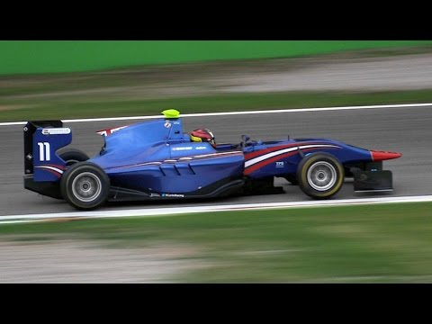Xxx Mp4 Dallara GP3 Formula Cars Amazing V6 Sound GP3 Series 2014 Monza 3gp Sex
