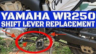 Yamaha WR250 Shift Lever Replacement/Installation Video