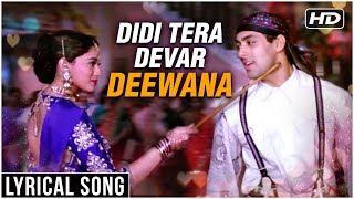 Didi Tera Devar Deewana | Lyrical Song | Hum Aapke Hain Koun | Salman Khan, Madhuri Dixit