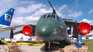Embraer KC-390's Farnborough Airshow Debut