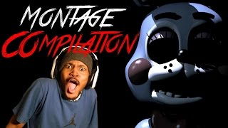 Five Nights At Freddy's 2 Montage Compilation! (Funny Moments)