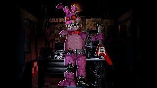 [FNaF speed edit] Nightmare Bonnie the Bunny