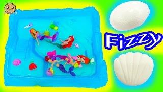 The Little Mermaid and Barbie Swim in Pool of Splashlings + Surprise Fizzy Egg