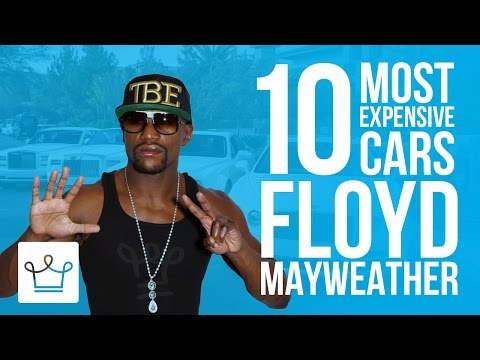 10 Most Expensive Floyd Mayweather Cars