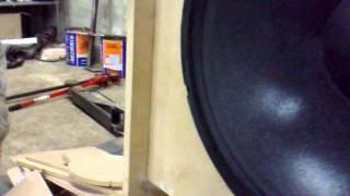 Testing soundsystem pt 2 - Mogale scoop bin!