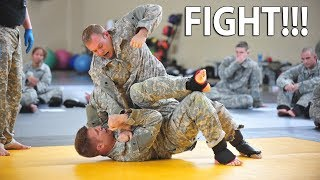 How Soldiers Solve Arguments At Basic Training