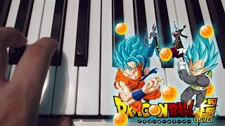 Dragon Ball Super /  Chozetsu Dynamic  / Piano / Tutorial / Notas Musicales / Cover