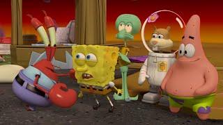 SpongeBob SquarePants Movie / All Cutscenes of Plankton's Robotic Revenge (English) Full HD 1080p