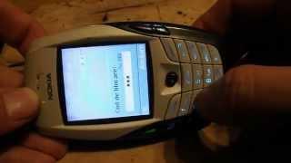 Hard reset Nokia 6600