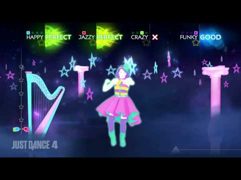 Selena Gomez and The Scene Love You Like A Love Song Just Dance 4 Gameplay