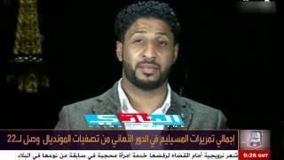 ياسر المسيليم حارس المنتخب ضيف برنامج في المرمى