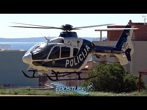 Croatian Police - Eurocopter EC-135P-2+ 9A-HBA - Split Hospital Firule Helipad