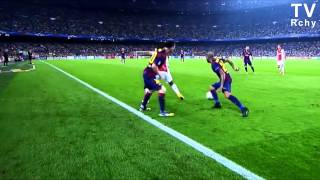 Lionel Messi ● Blue Skies ● Beating players 2015 HD