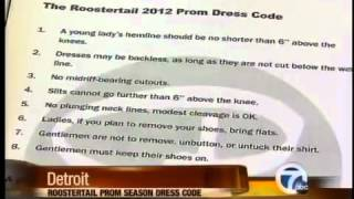 Too Sexy Prom Dresses Not Allowed