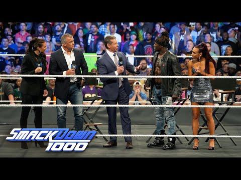 Xxx Mp4 Mr McMahon Interrupts Truth TV For A Dance Break SmackDown 1000 Oct 16 2018 3gp Sex