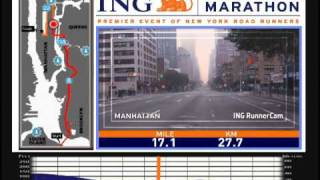 ING New York City Marathon Course Video