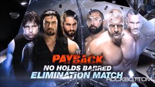 WWE' Payback 2014: The Shield vs Evolution Match Card [HD]