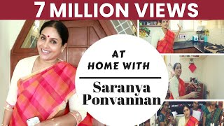 At Home with Saranya Ponvannan | I am very particular about Cleanliness| JFW Exclusive