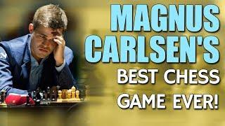 Magnus Carlsen's Best Chess Game Ever by GM Nadya Kosintseva