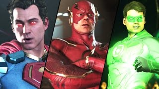 INJUSTICE 2 All Super Moves (ALL CHARACTERS) 1080p 60FPS