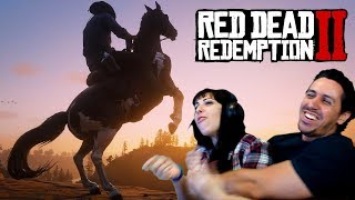 RED DEAD REDEMPTION 2 Gameplay Reveal Reaction