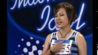 Aiu Ratna at Indonesian Idol 2 (2005)