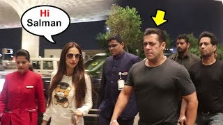 Salman Khan IGNORES Malaika Arora At Airport After How She Treated Arbaaz Khan Causing DIVORCE