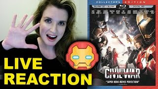 Captain America Civil War LIVE BLU-RAY COMMENTARY