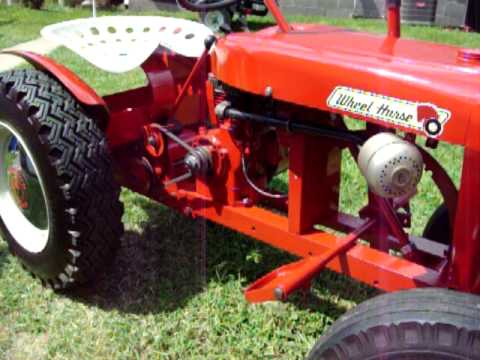 Restored 1960 Wheel Horse Suberban 400