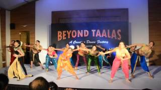 Beyond Taalas : Belly dancing : Choreography Batch_2016