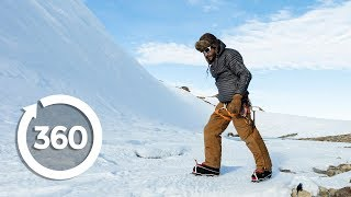 Living on Ice | Antarctica 360 VR Video | Discovery TRVLR