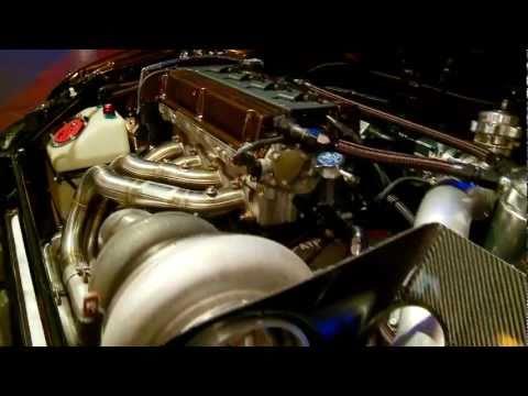 Mitsubishi EVO IIIX 1000 - 1100 HP 43 PSI 8,xxx Sec 1/4 Mile car-movies.de