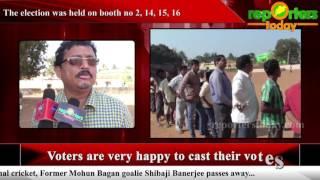Fifth phase three tier panchayat polls in Begunia & khordha block ends peacefully