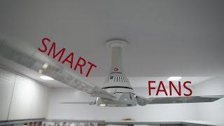 Ottomate Smart Fans, Ceiling Fan, Breeze Mode, Bluetooth Connectivity, App Controlled
