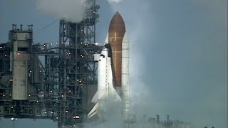 Last Second Shuttle Launch Abort