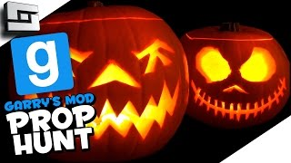 HALLOWEEN HOUSE! (Gmod Prop Hunt Funny Moments)