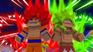 Minecraft: NAMORADOS - NOVOS SUPER SAIYAJINS !   #7 ‹ Ine ›