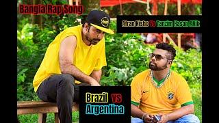Brazil Vs Argentina   Eid Natok   Afran Nisho   Tanjin Tisha   Black Smoke  Bannah  Bangla Rap 2018