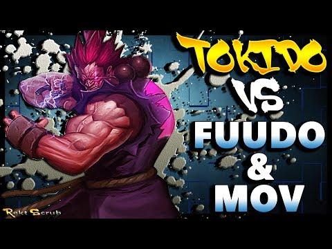 SFV - Tokido ( Akuma ) Vs Fuudo & MOV ( R.Mika / Chun Li ) - SF5