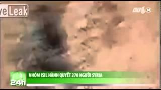 VTC14_Nhóm ISIL hành quyết 270 người Syria