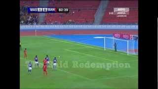 20112012 | MAS vs BAN 2012 | 2nd Gol - Jahid Hasan Ameli
