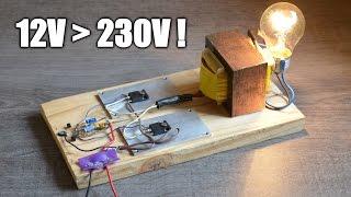 Fabriquer un onduleur - Make an inverter