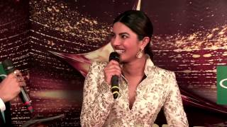 Priyanka Chopra sings her favorite songs