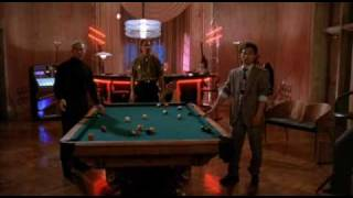 Hard to Kill - pool table scene