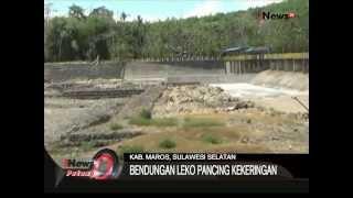 Bendungan Leko Pancing Kekeringan, Kab, Maros, Sulawesi Selatan - iNews Petang 14/08