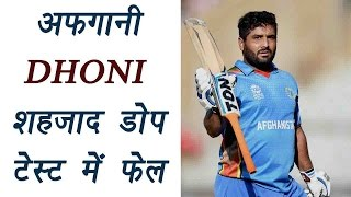 Mohammad Shahzad, The Dhoni of Afghanistan fails dope test;banned by ICC | वनइंडिया हिन्दी