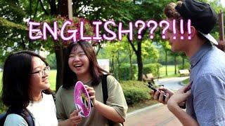 한국인 길거리 영어테스트^^ Street English tests on Koreans